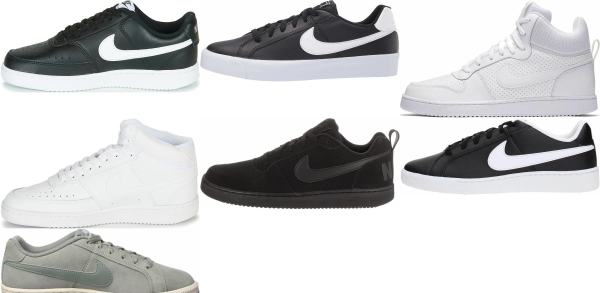 buy nike court sneakers for men and women