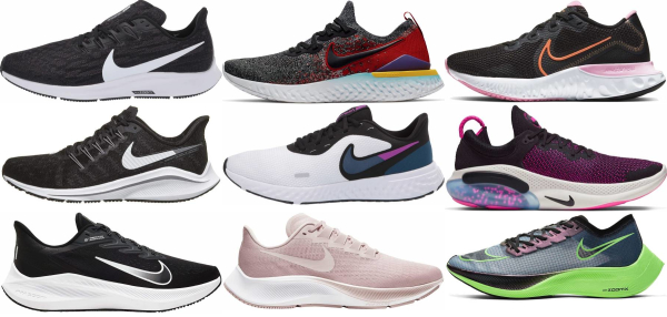 buy nike cushioned running shoes for men and women