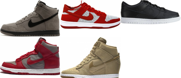 buy nike dunk sneakers for men and women