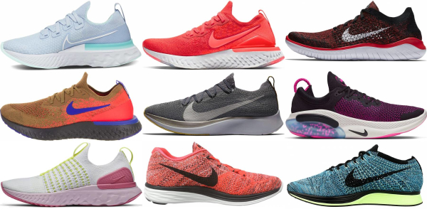 buy nike flyknit running shoes for men and women