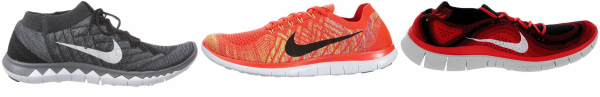 buy nike free flyknit running shoes for men and women