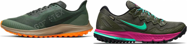 buy nike gore-tex running shoes for men and women