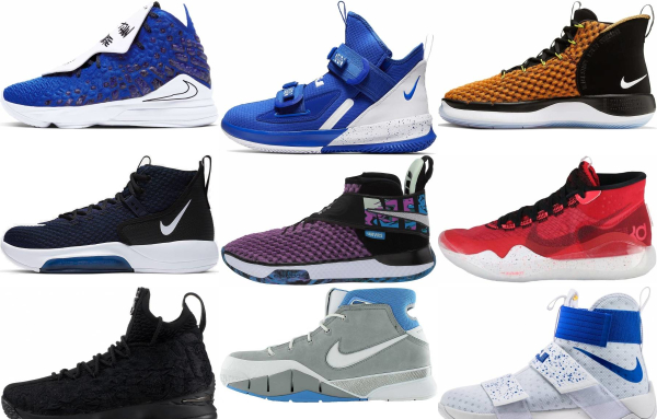 buy nike high basketball shoes for men and women