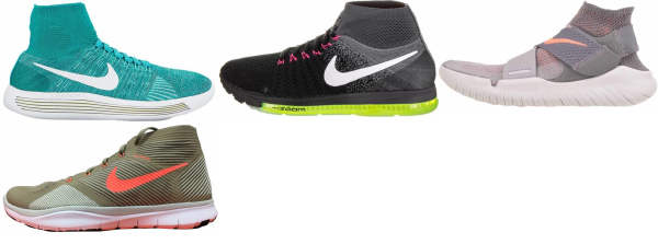 buy nike high-top running shoes for men and women