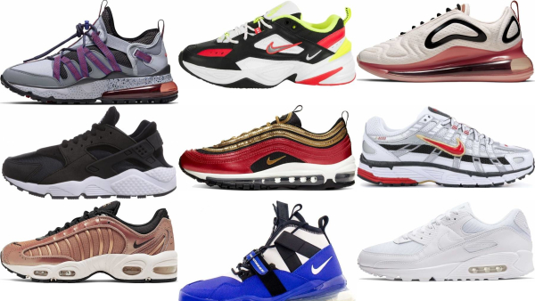 buy nike leather sneakers for men and women