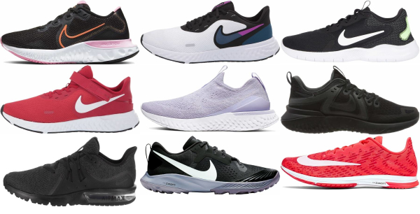 buy nike low drop running shoes for men and women