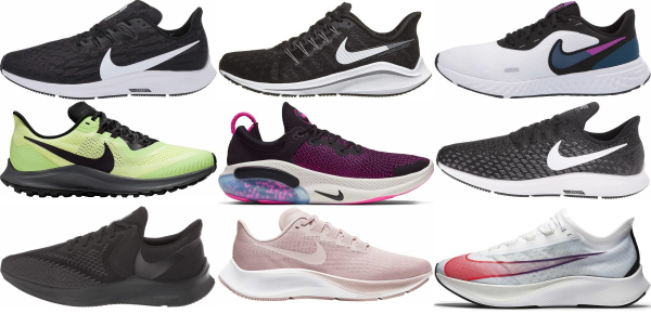 buy nike marathon running shoes for men and women