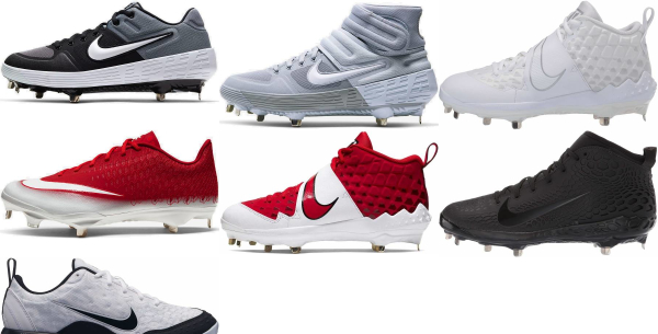 buy nike metal baseball cleats for men and women