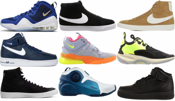 buy nike mid top sneakers for men and women