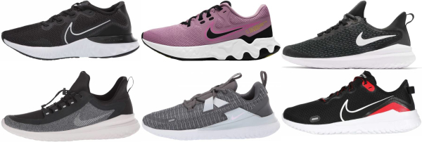 buy nike renew running shoes for men and women