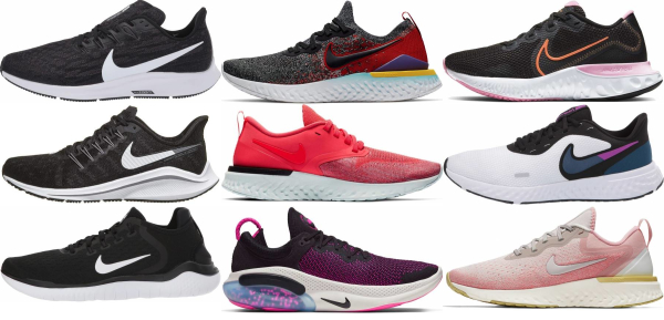 buy nike road running shoes for men and women