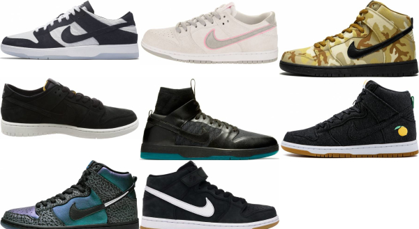 buy nike sb dunk sneakers for men and women