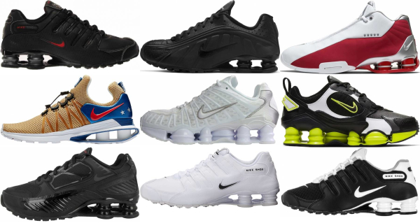 buy nike shox sneakers for men and women