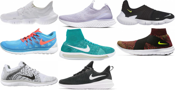 buy nike slip-on running shoes for men and women