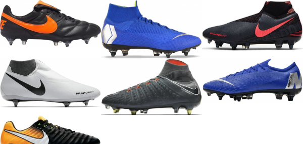 buy nike soft ground soccer cleats for men and women