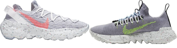 buy nike space hippie sneakers for men and women