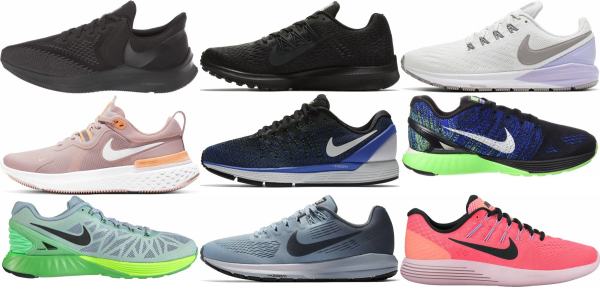 buy nike stability running shoes for men and women