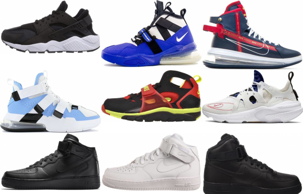 buy nike strap sneakers for men and women