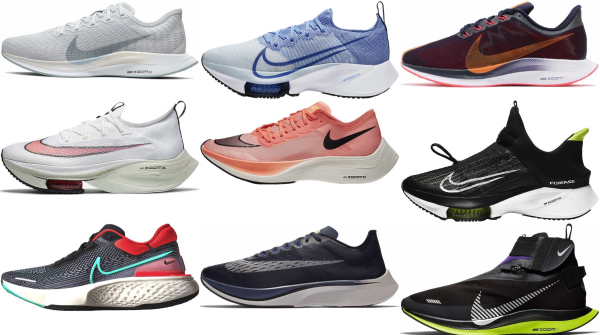 buy nike zoomx running shoes for men and women