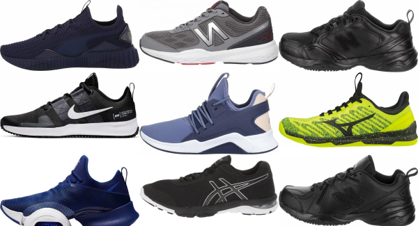 buy non-marking sole training shoes for men and women
