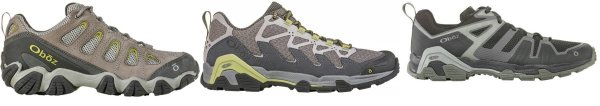 buy oboz breathable hiking shoes for men and women