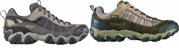 buy oboz fabric hiking shoes for men and women