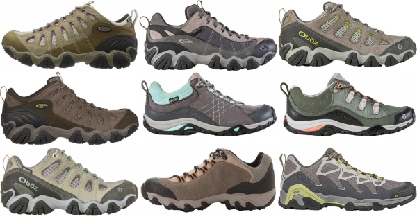 buy oboz hiking shoes for men and women