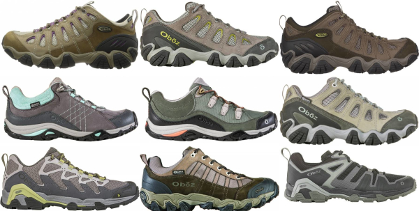 buy oboz lightweight hiking shoes for men and women