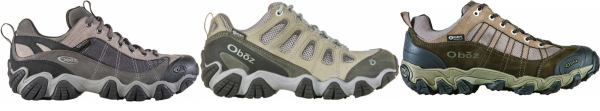 buy oboz nylon shank hiking shoes for men and women