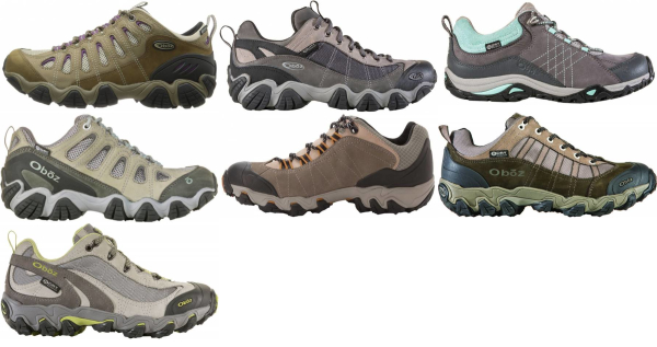 buy oboz waterproof hiking shoes for men and women