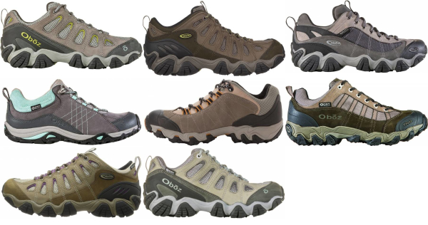 buy oboz wide hiking shoes for men and women