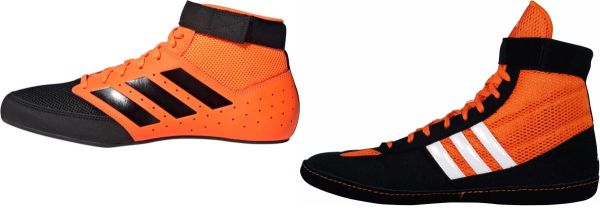 buy orange adidas wrestling shoes for men and women