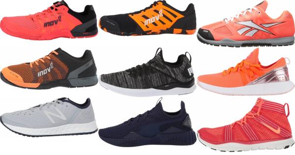 buy orange cross-training shoes for men and women
