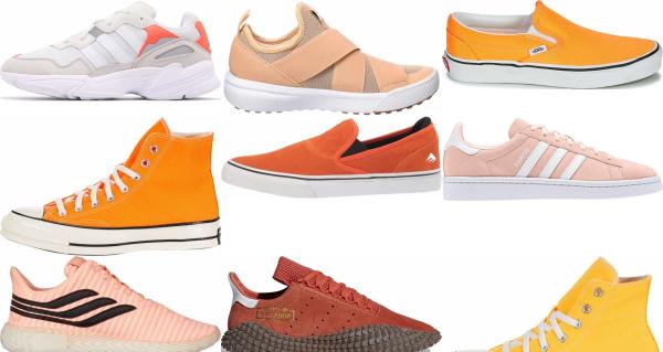 buy orange eva sneakers for men and women
