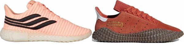 buy orange football sneakers for men and women