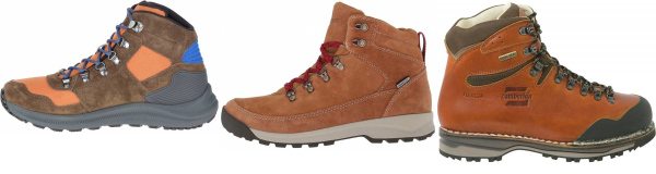 buy orange hiking boots for men and women