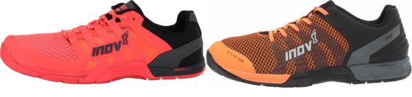 buy orange inov-8 training shoes for men and women