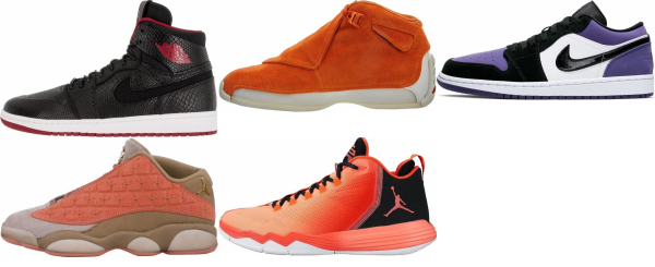 buy orange jordan basketball shoes for men and women