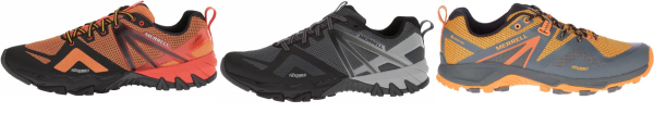buy orange lightweight hiking shoes for men and women