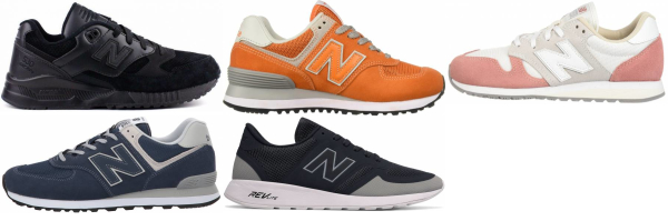 buy orange new balance sneakers for men and women
