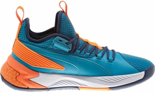 buy orange puma basketball shoes for men and women