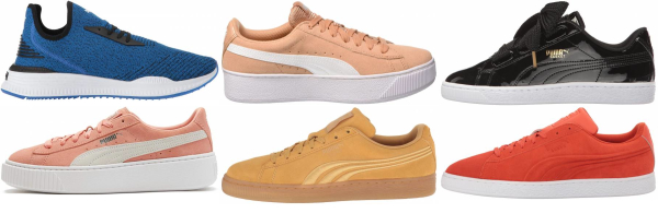 buy orange puma sneakers for men and women