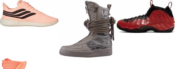 buy orange reflective sneakers for men and women