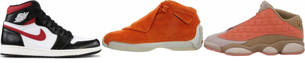 buy orange retro basketball shoes for men and women