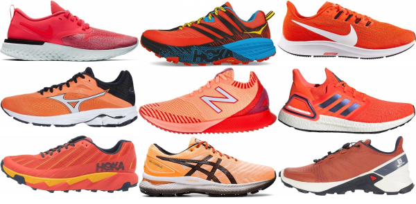Save 44% On Orange Running Shoes (168 Models In Stock
