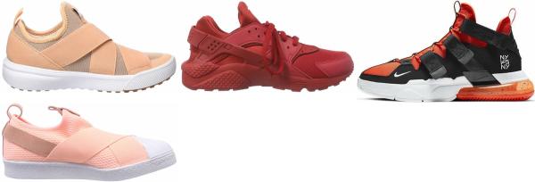 buy orange strap sneakers for men and women