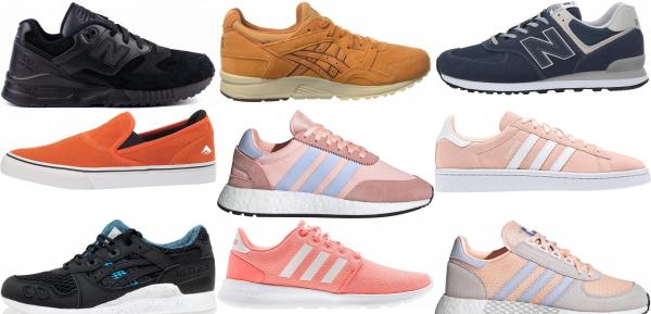 buy orange suede sneakers for men and women