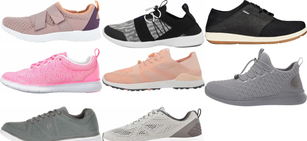 buy orthotic friendly knit upper walking shoes for men and women