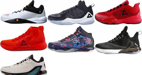 Peak Basketball Shoes (6 Models in
