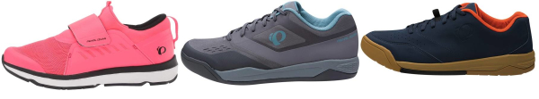 buy pearl izumi flat cycling shoes for men and women